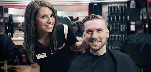 Sport Clips Haircuts of Yorkville​ stylist hair cut